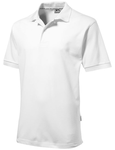 33S01•FOREHAND POLO, 2XL, white solid (01)