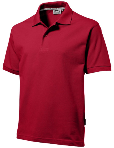 33S01•FOREHAND POLO, 2XL, dark red (28)