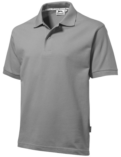 33S01•FOREHAND POLO, 2XL, grey (90)