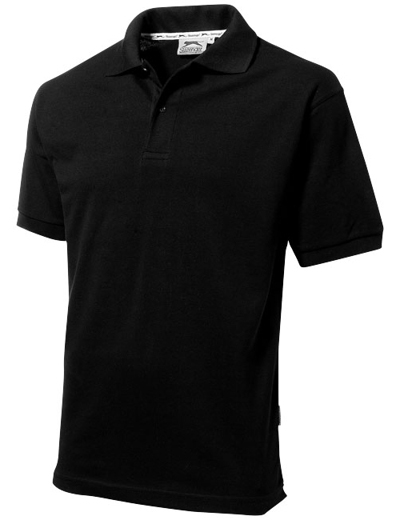 33S01•FOREHAND POLO, 2XL, black (99)