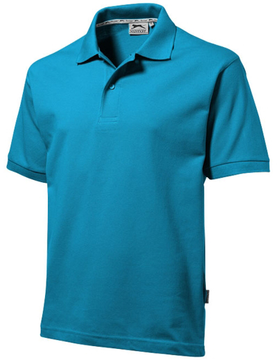 33S01•FOREHAND POLO, 2XL, turquoise (51)