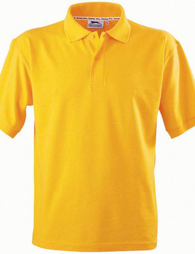 33S01•FOREHAND POLO, 2XL,  OUT-gold (16)
