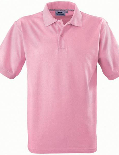 33S01•FOREHAND POLO, M,  OUT-pink (21)