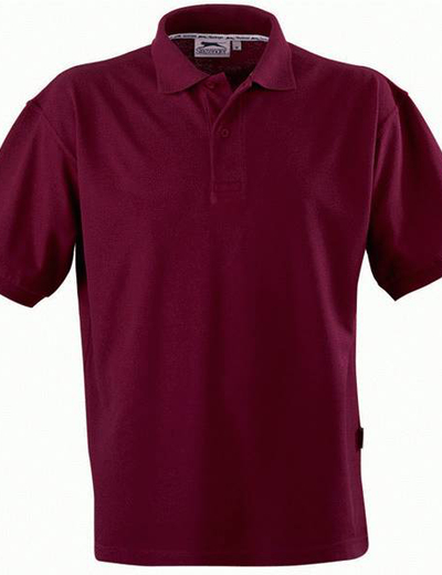 33S01•FOREHAND POLO, S,  OUT-burgundy (24)