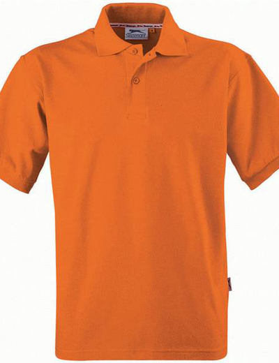 33S01•FOREHAND POLO, S,  OUT-bright orange (33)