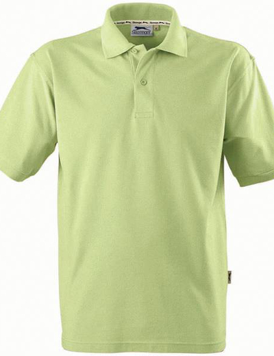 33S01•FOREHAND POLO, S,  OUT-light green (65)