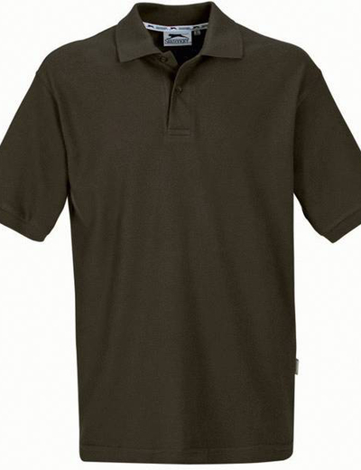 33S01•FOREHAND POLO, S,  OUT-army green (70)