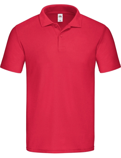 F66•ORIGINAL POLO, 2XL,  out-red (05)