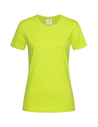 HS01•CLASSIC T-SHIRT WOMEN, L,  NEW-bright lime (83)